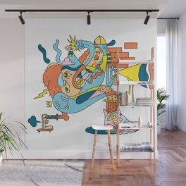 Trouser Jazz Wall Mural
