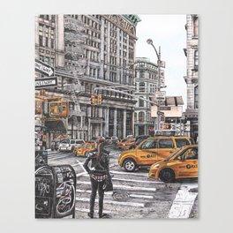 New York I Love You Canvas Print