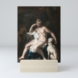 Sebastiano Ricci Diana and Her Dog Mini Art Print