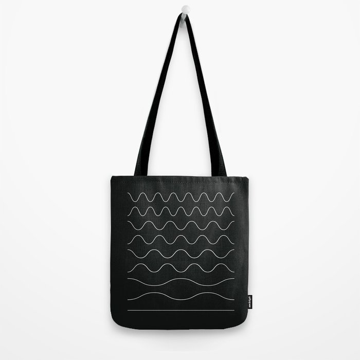 between waves Tote Bag