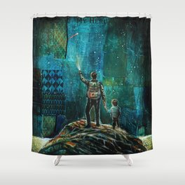 My Hero Shower Curtain