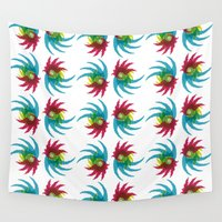 parrot Wall Tapestries featuring PARROT by Atahan Atalay