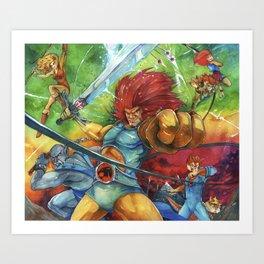 thunder, Thunder, THUNDER Art Print
