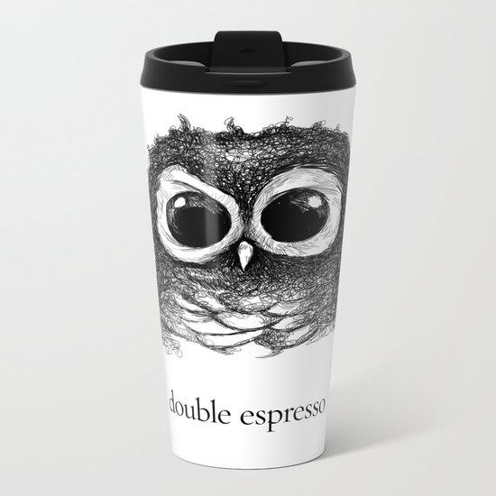 double espresso Metal Travel Mug