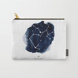 Zodiac Star Constellation - Sagittarius Carry-All Pouch