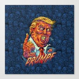 Trump Zombie Canvas Print