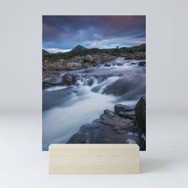 The River at Sligachan Mini Art Print