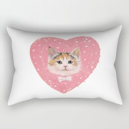 Galactic Kitten Rectangular Pillow