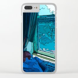 """Brooklyn Wonder"" Clear iPhone Case"
