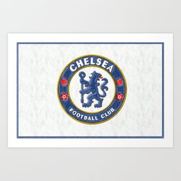 Chelsea Football Club Art Print