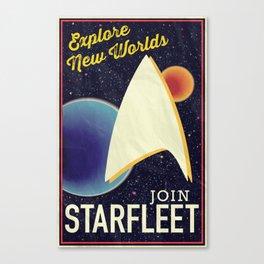 Star Trek: Join Starfleet Canvas Print
