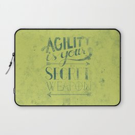 Agility is your secret weapon Laptop Sleeve