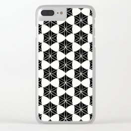 Flower of Life-Moroccan mosaic Clear iPhone Case