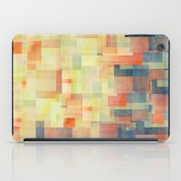 shipping iPad Cases featuring Cubism Dream (Brush Fire Remix) by Jacqueline Maldonado