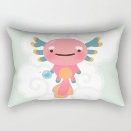 Umpearl - Axolotl with magic pearl Rectangular Pillow