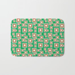 Square Pattern Bath Mat