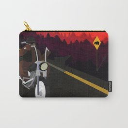 Bear Road Trip Carry-All Pouch