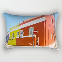 Colorful Bo-Kaap area of Cape Town Rectangular Pillow