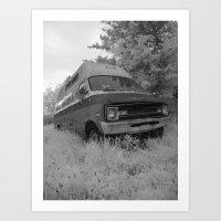 truck Art Prints featuring Truck by Jean-François Dupuis