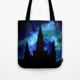 Religious Space : Galaxy Cathedral Tote Bag