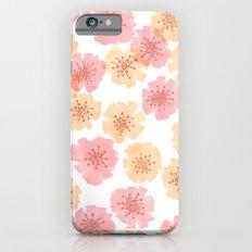 Pink Cherry Blossom  Slim Case iPhone 6s