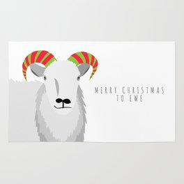 Merry Christmas to Ewe 2 Rug