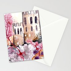 Castle and Coral Stationery Cards