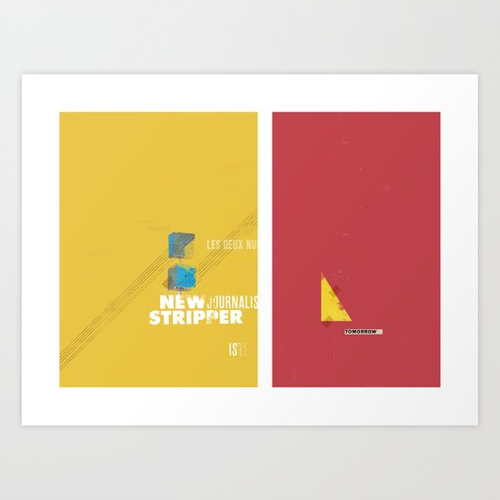 Stripper series Art Print
