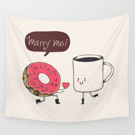 Marry Me Wall Tapestry