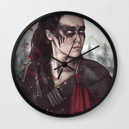 Commander Lexa Wall Clock