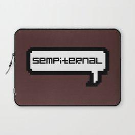 Sempiternal - Maroon Laptop Sleeve