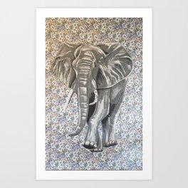 Poaching Art Print
