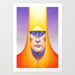 Arzach  (Hommage to Moebius) Art Print