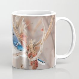 Blue Jay and Sumac Coffee Mug