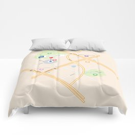 Different Places! Comforters
