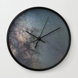 Milky way Antares Region wide angle view Wall Clock