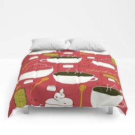 Hot Chocolate Comforters