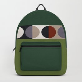 malevich moon || pine green Backpack