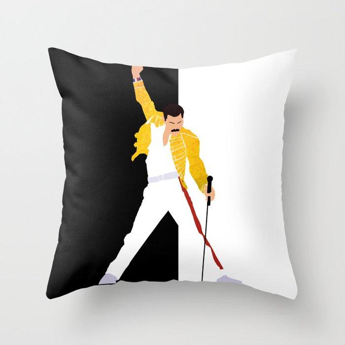 Freddie m Throw Pillow