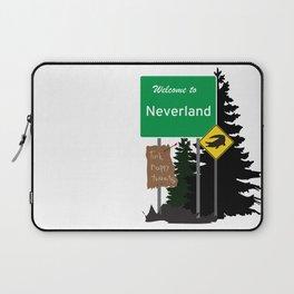 Neverland signs Laptop Sleeve