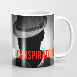 The Conspirators Podcast Show Art Coffee Mug