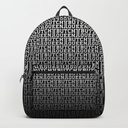 BQ - fade 2 -blk Backpack