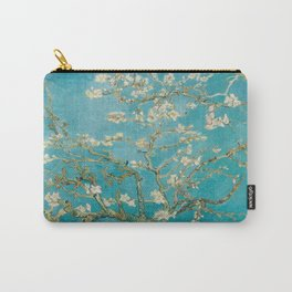 Vincent Van Gogh's Branches of an Almond Tree in Blossom Carry-All Pouch