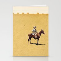 dark tower Stationery Cards featuring Dark Tower by Caitlin Donald