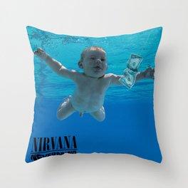 Nirvana - Nevermind Throw Pillow