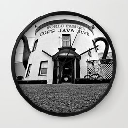 The Java Jive Wall Clock