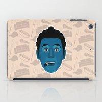 seinfeld iPad Cases featuring Cosmo Kramer - Seinfeld by Kuki