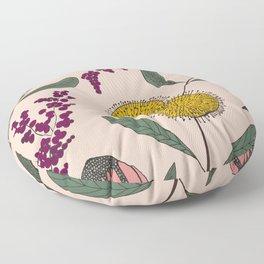 Floating Garden Floor Pillow