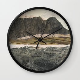Another Ocean Wall Clock