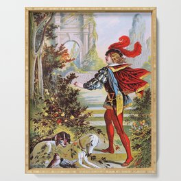 Carl Offterdinger - The Sleeping Beauty In The Woods - Digital Remastered Edition Serving Tray
